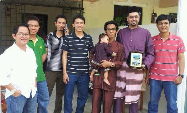 حفل وداع آخر يوم في ماليزيا